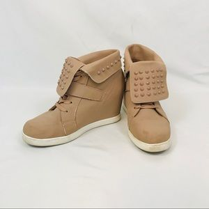 Charlotte Russe Streetwear Peach Sneakers